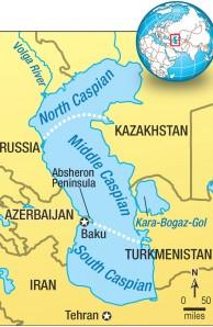 Fate of the Caspian Sea  Natural History Magazine