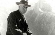 Stephen T. Mather at Glacier Point in Yosemite National Park