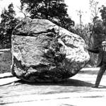 rocking stone