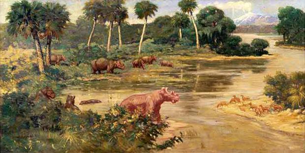 Caveman And Dinosaurs : Selections from u cdinosaurs mammoths and cavemenu the art of